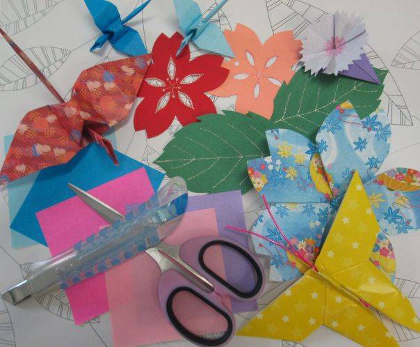 summer origami kids