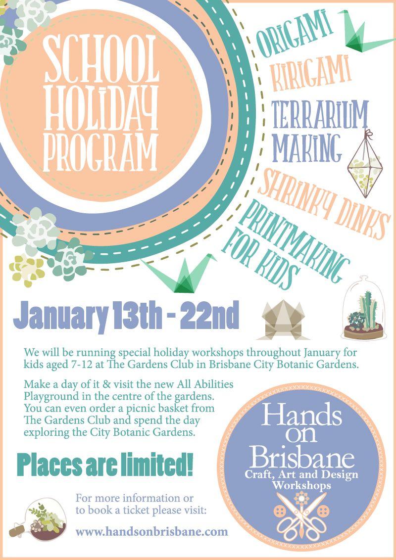 Hands On Brisbane Brisbane Art Craft Workshops